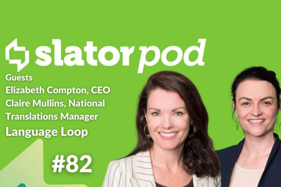 LanguageLoop CEO and Translations Manager discuss the Language Services market in Australia on SlatorPod